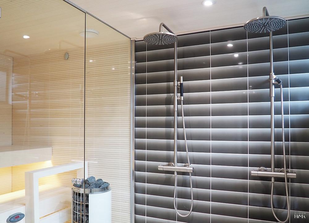 Townhouse Rokka kylpyhuone ja sauna
