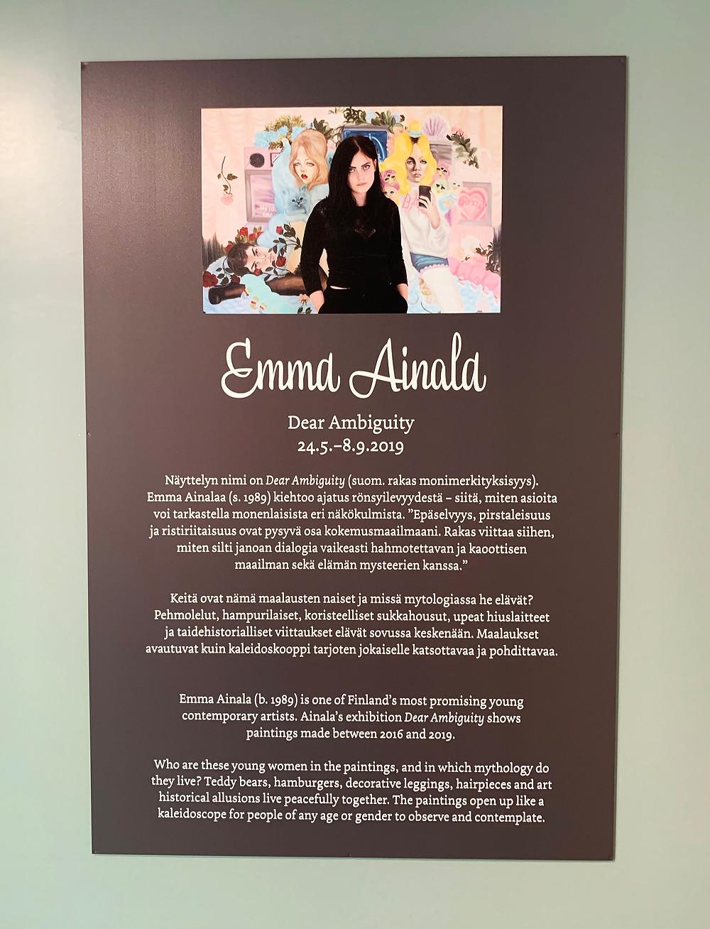 Emma Ainala – Dear Ambiguity