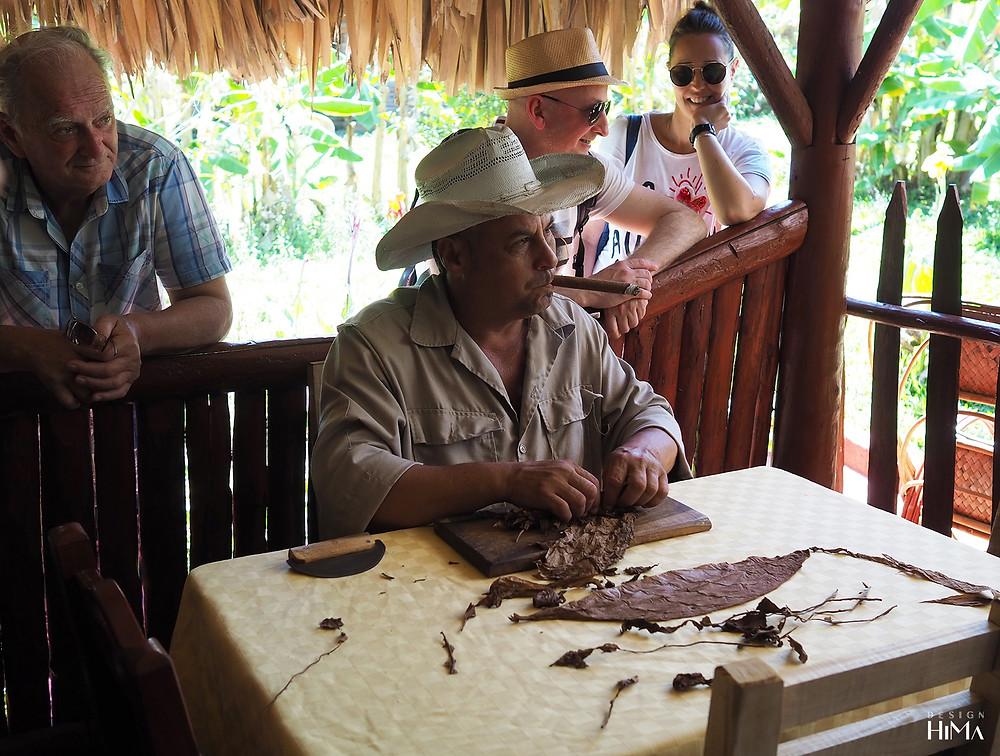 Kuuba Vinales sikarin käärintä