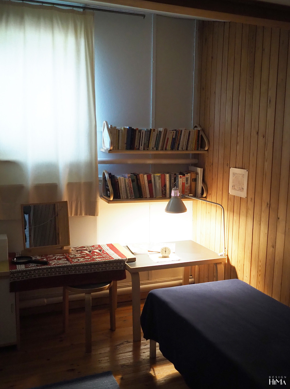 Muuratsalon koetalo makuuhuone