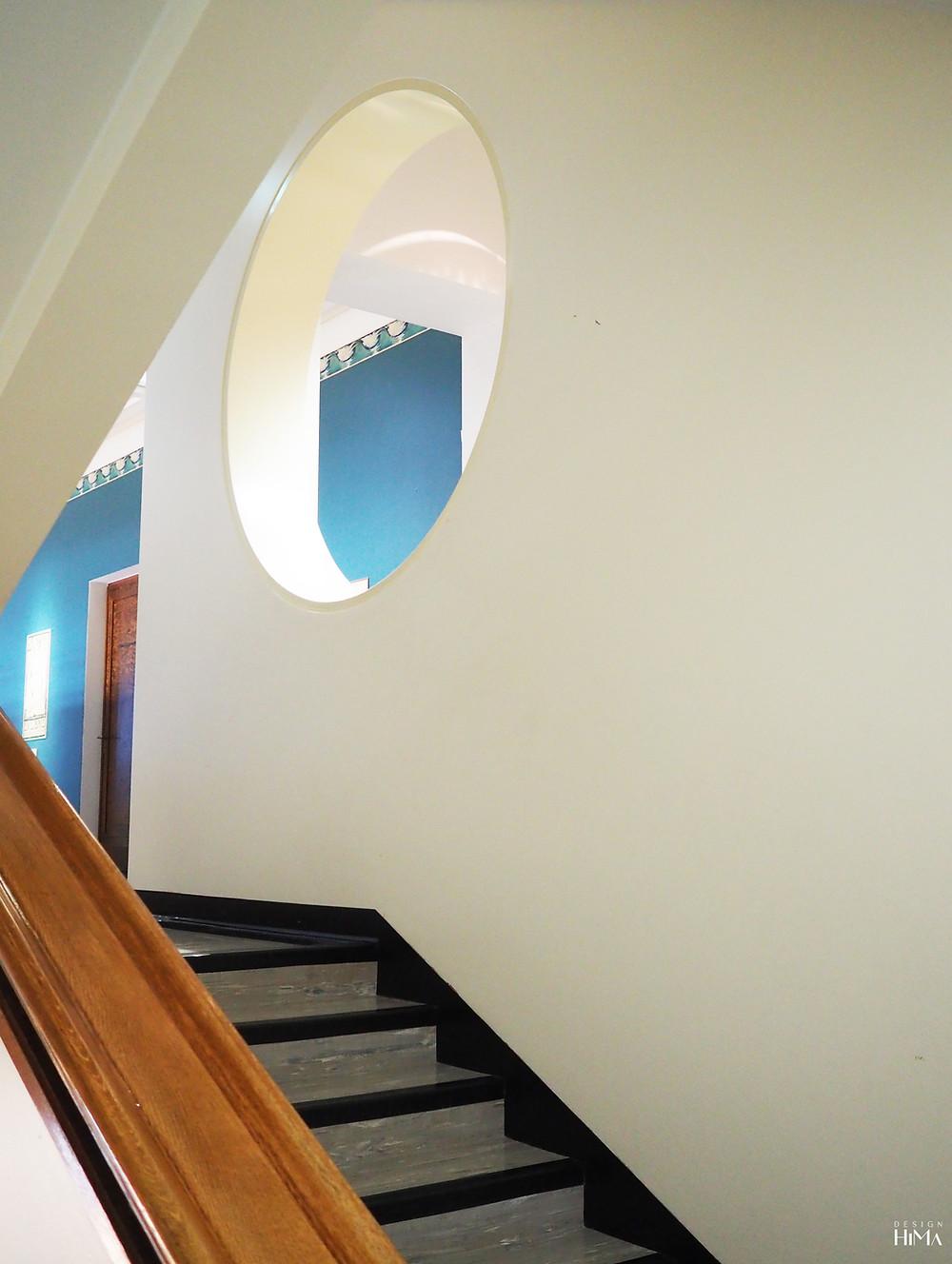 Gustaf-museo portaikko