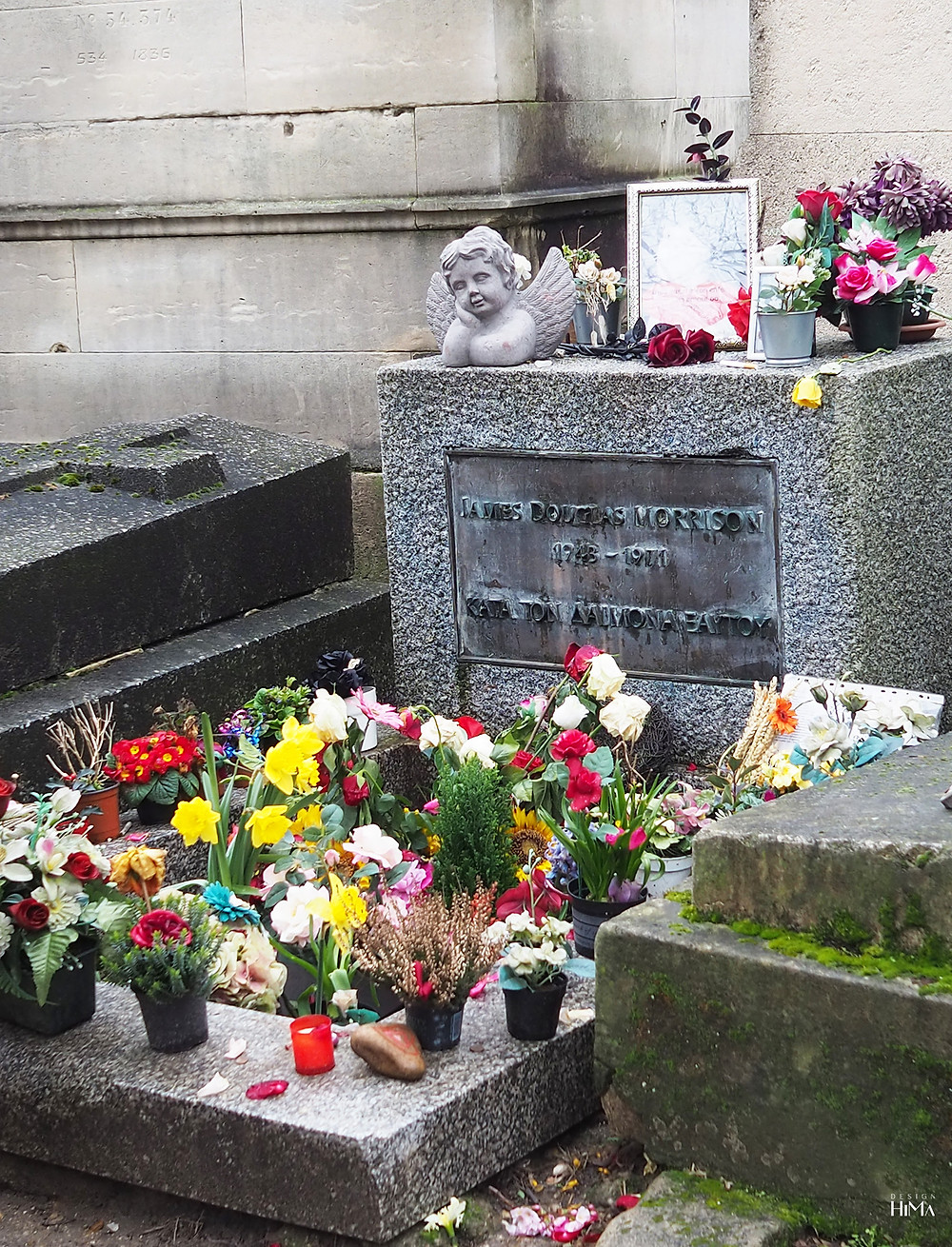 Jim Morrisonin hauta, Pariisi