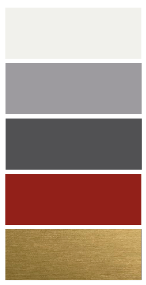 Sisustuksen värikartta olohuone