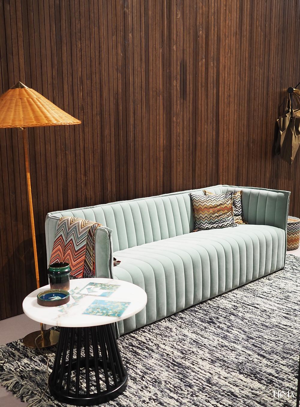 Habitare mintunvihreä sohva