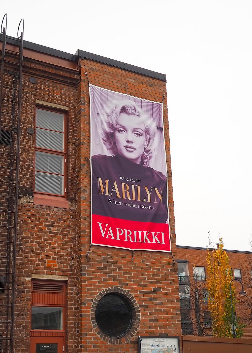 Marilyn Monroe – nainen roolien takana Vapriikki