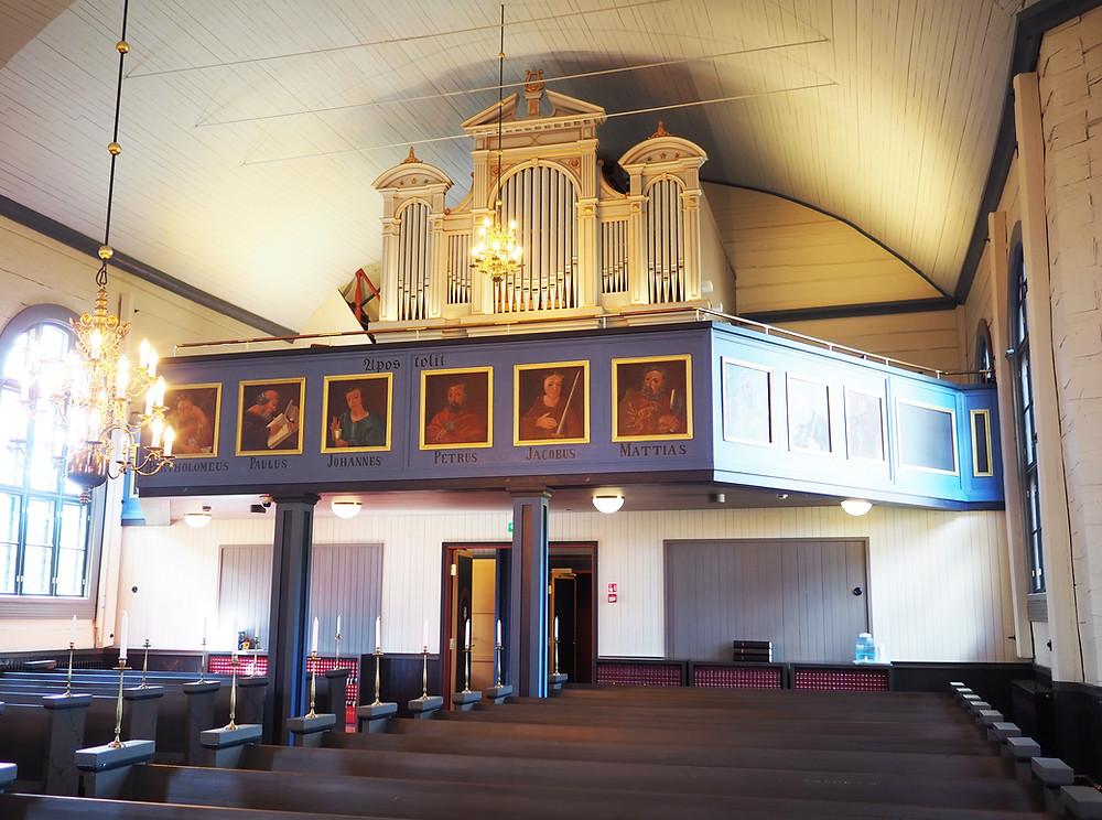 Korpilahden kirkon urut
