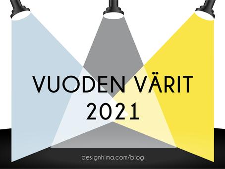 Vuoden värit 2021