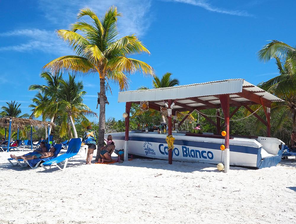 Varadero Cayo Blanco beach bar