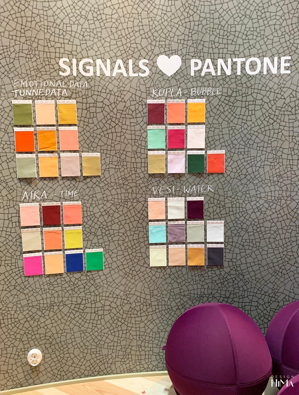Habitare Signals Pantone