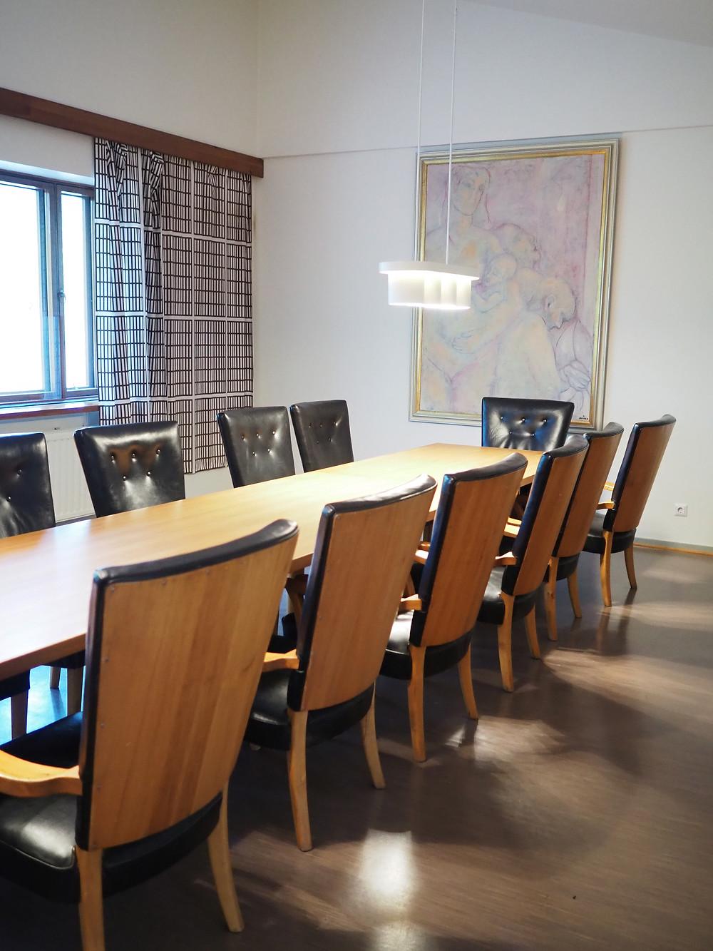 Säynätsalon kunnantalo hallituksen kokoushuone