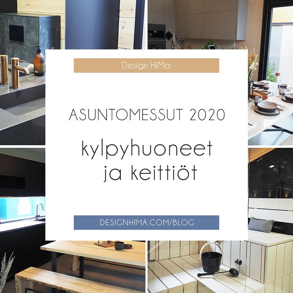 ASuntomessut 2020 kylpyhuoneet ja keittiöt