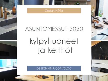 Tuusulan asuntomessut 2020 – pesuhuoneesta keittiöön