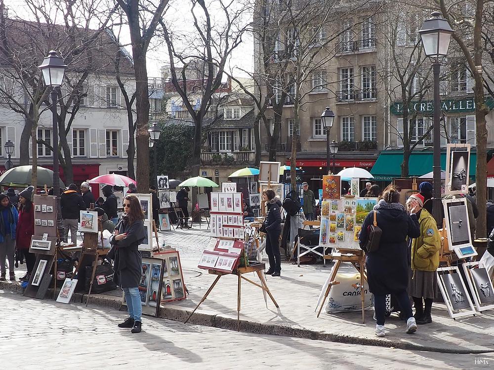 Montmartre taiteilijat