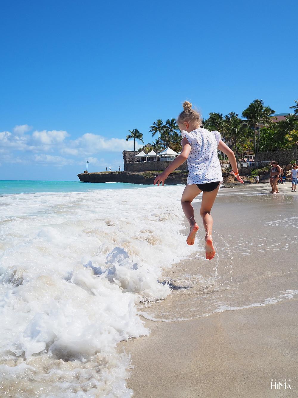Kuuba Varadero hyppy rannalla