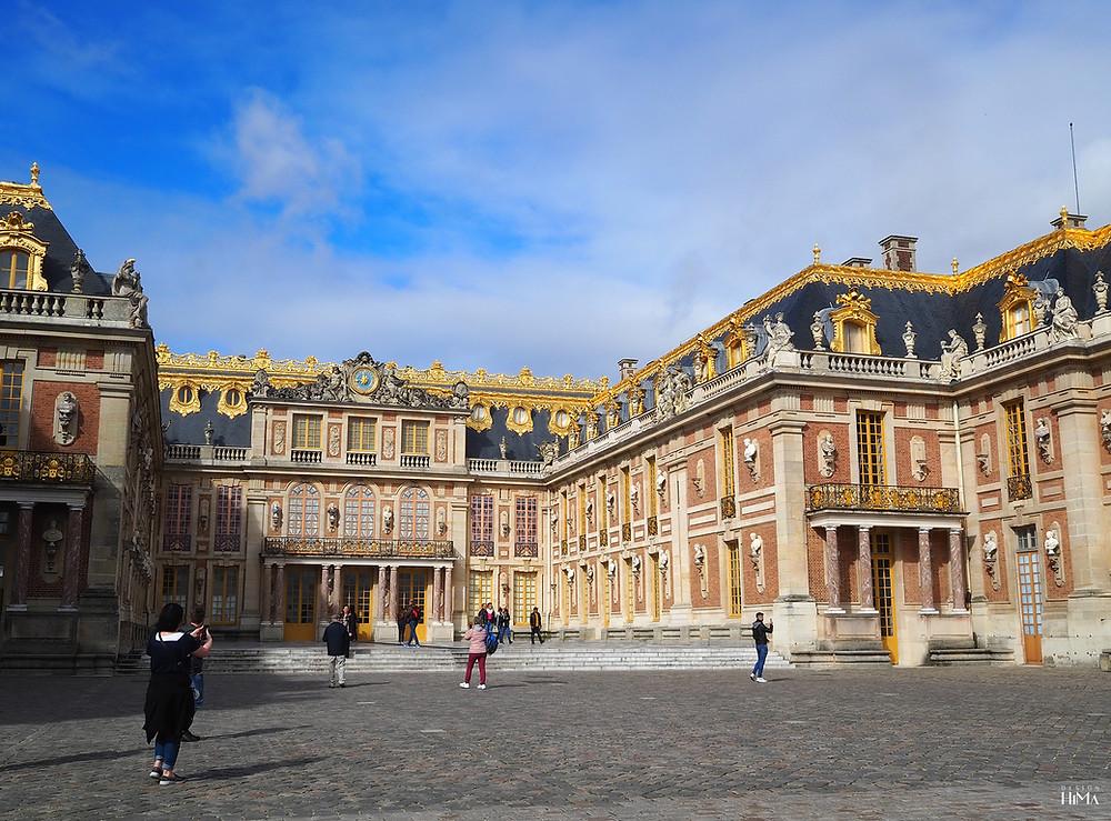 Versaillesin linnan sisäpiha
