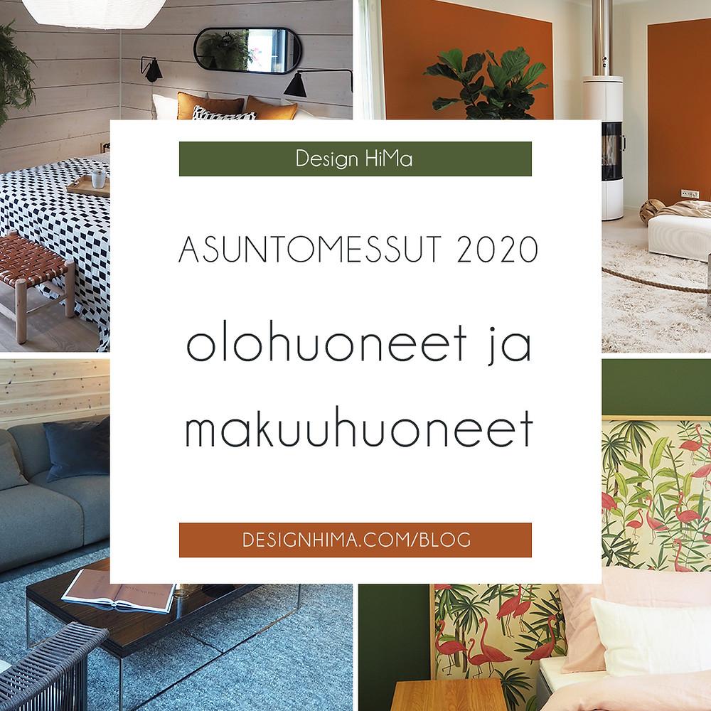 Tuusulan asuntomessut 2020 olohuoneet ja keittiöt