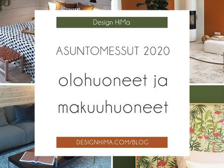 Asuntomessut 2020 – olohuoneesta makuuhuoneeseen