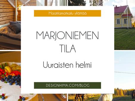 Marjoniementila Uuraisilla – ikimuistoisia juhlia ja ihania issikoita keskellä maalaisidylliä