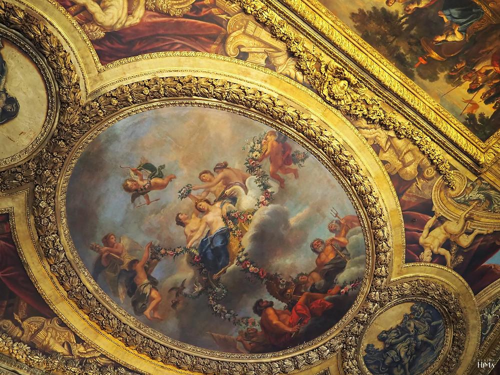 Versaillesin linna kattomaalaus