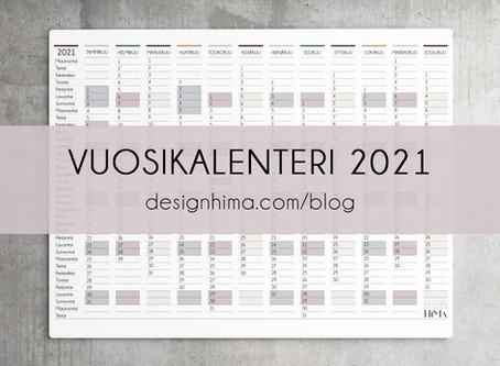 Vuosikalenteri 2021