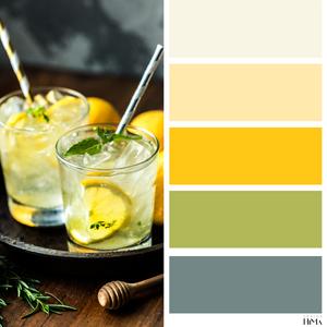 Lemonade värikartta