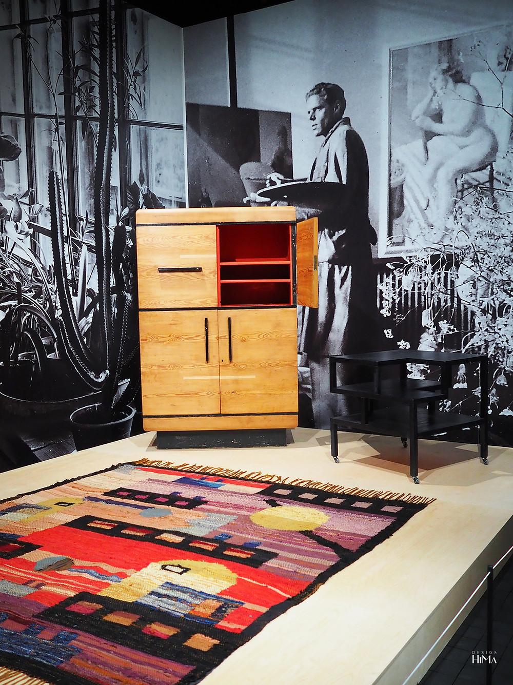 Birger Carlstedt matto ja kalusteet