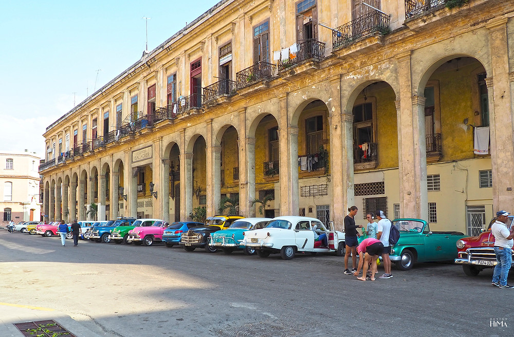 American cars at Havana