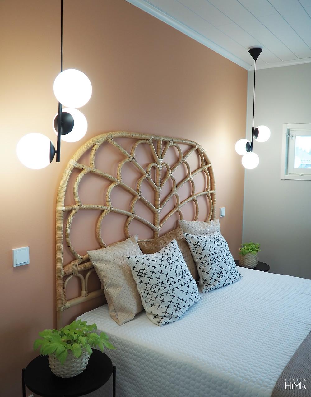 Kultakoivu makuuhuone