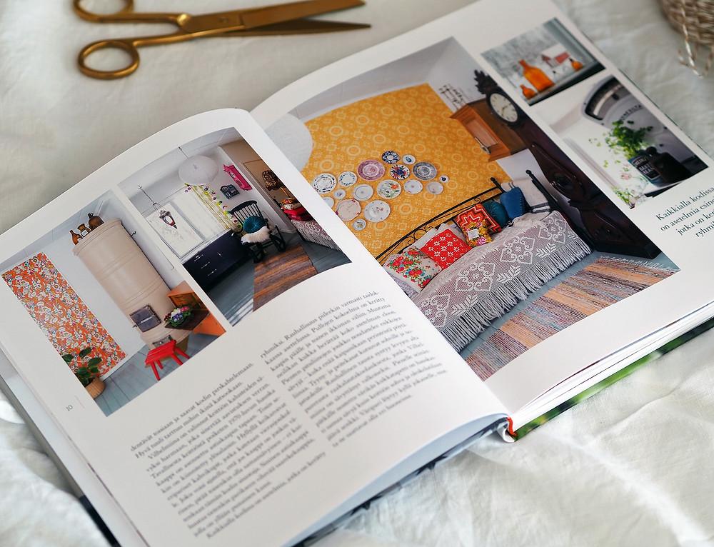 Kotona – Parhaat ideat kotiin, puutarhaan ja kesän juhliin Vilhelmiinan kodissa