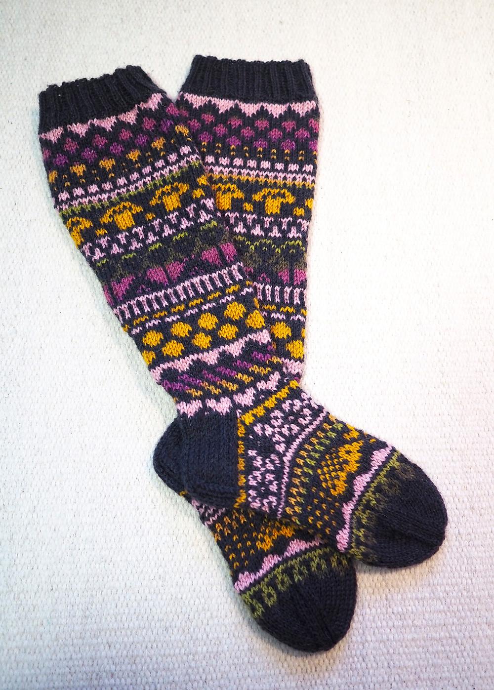 sadepäivän sukat