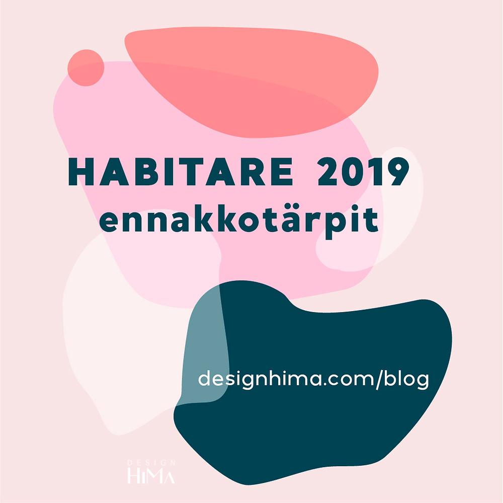 Habitare 2019 tärpit