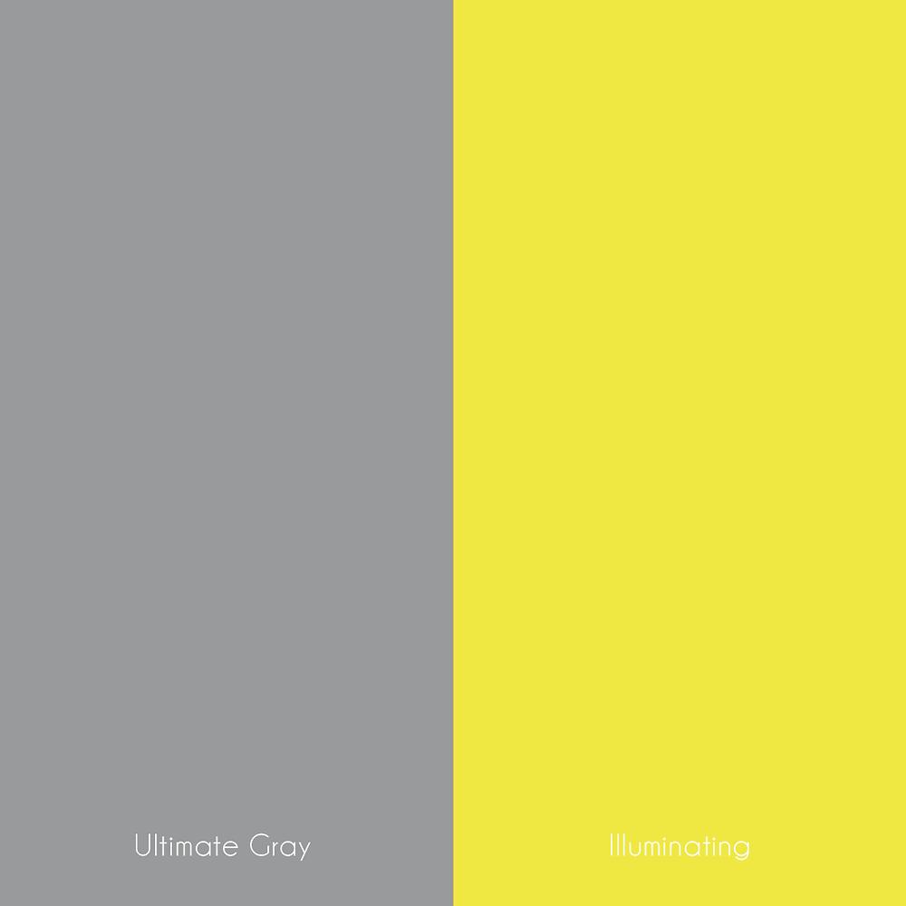 Pantone ultimate gray illuminating