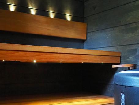 Saunaosaston uusi sisustus – ysärityylistä ajattomaksi