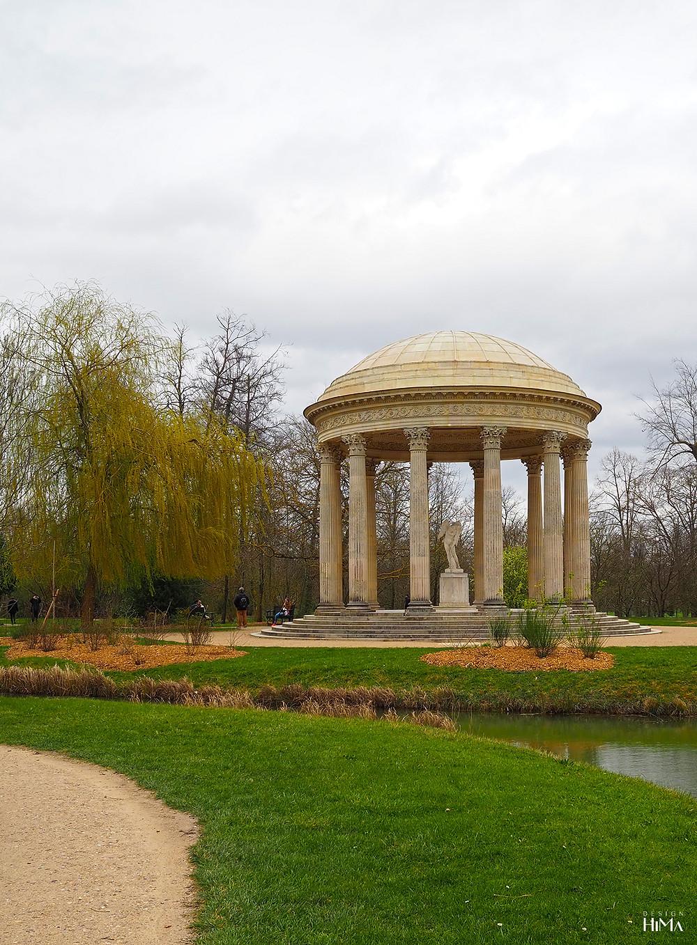 Petit Trianon garden Temple of Love