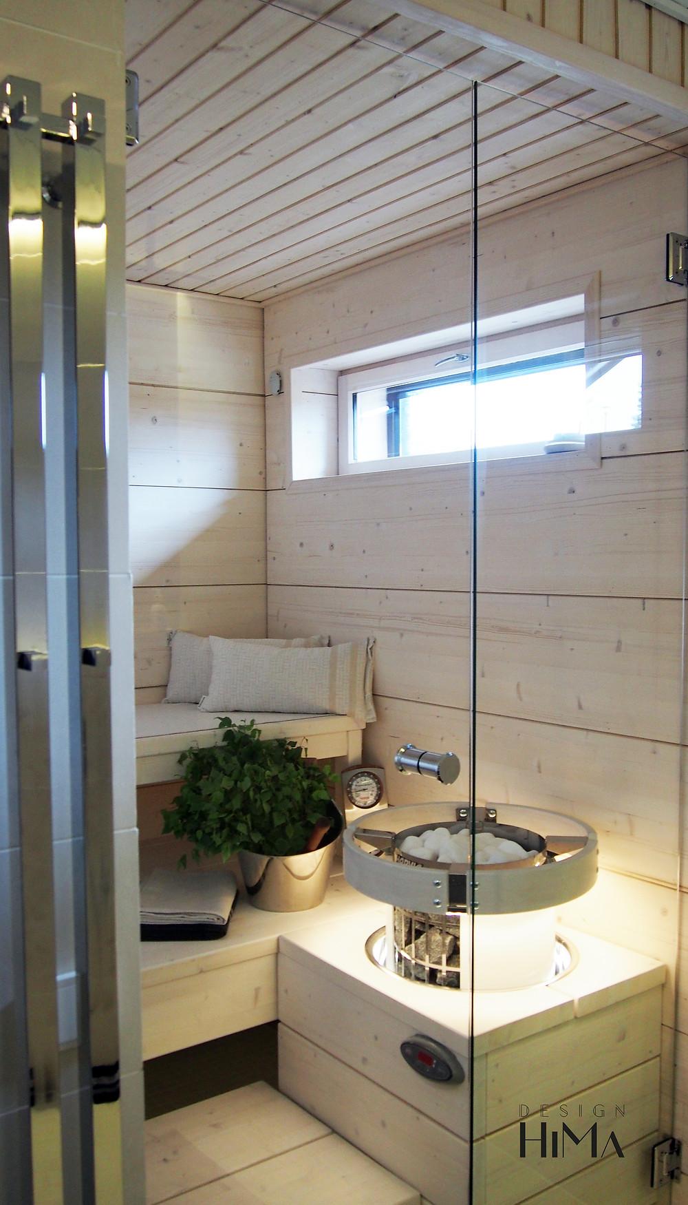 Asuntomessut Mikkeli vaalea sauna
