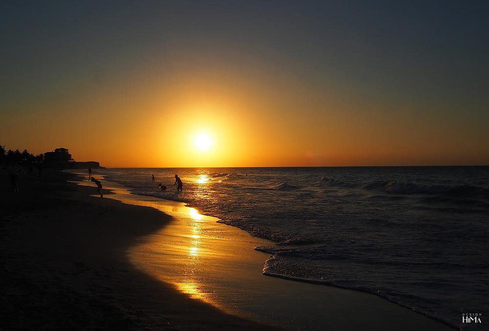 Kuuba Varadero sunset