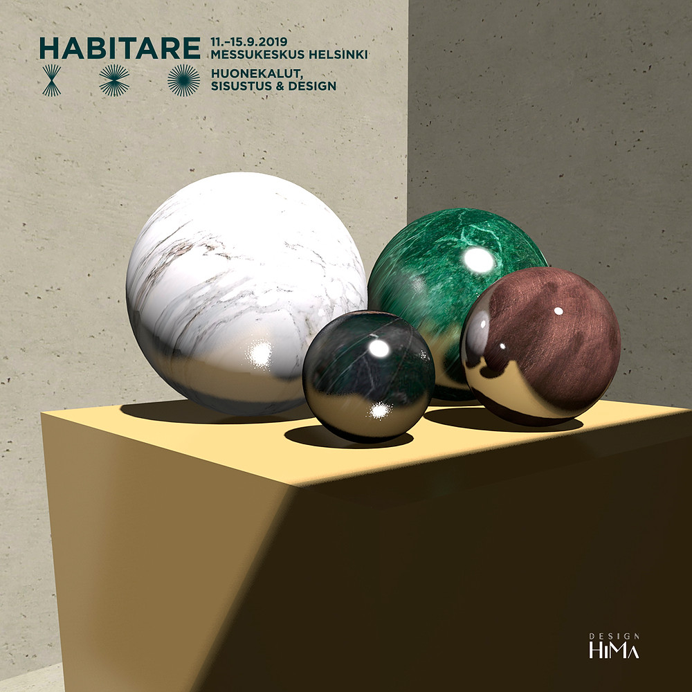 Habitare 2019 materiaalit