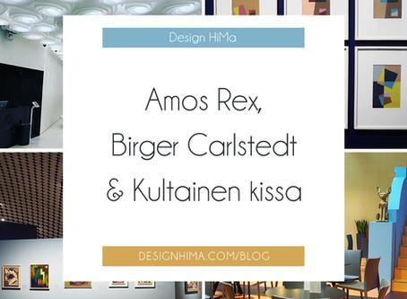 Amos Rex, Birger Carlstedt ja Kultainen kissa