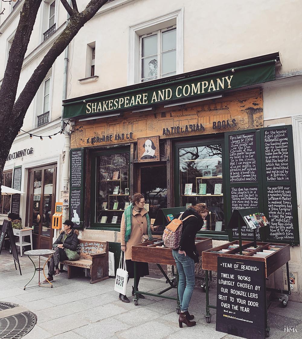 Shakespeare & Company Pariisi