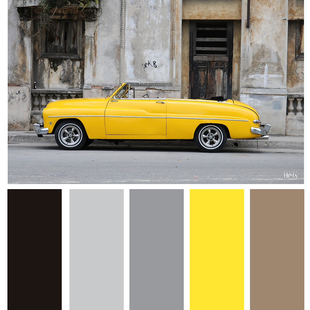 Pantone Color of the year 2021 color chart