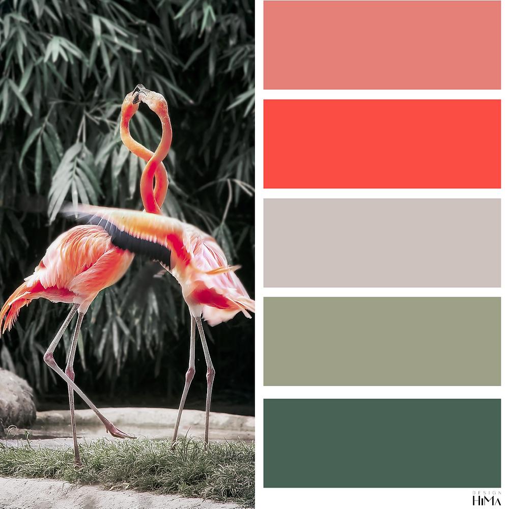 Tikkurila Flamingo värikartta