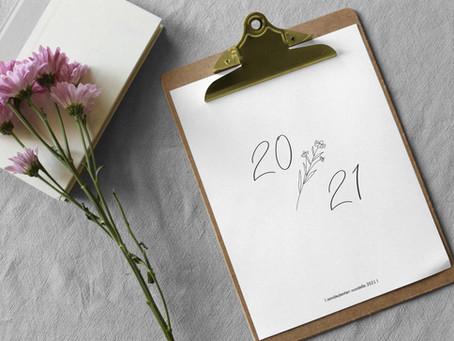 Design HiMan seinäkalenteri 2021