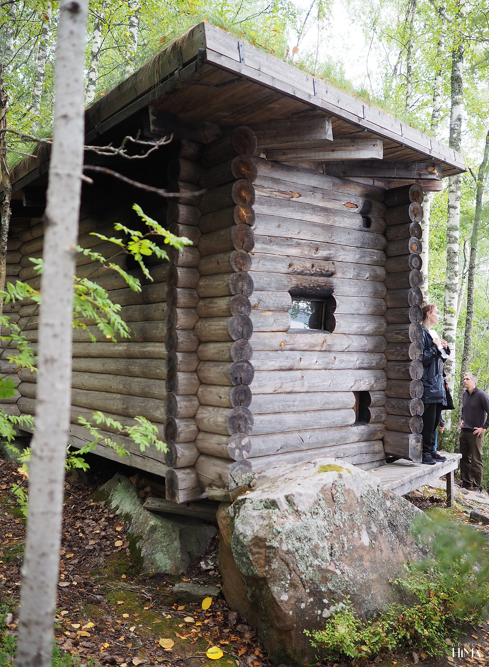 Alvar Aalto savusauna Muuratsalon koetalo