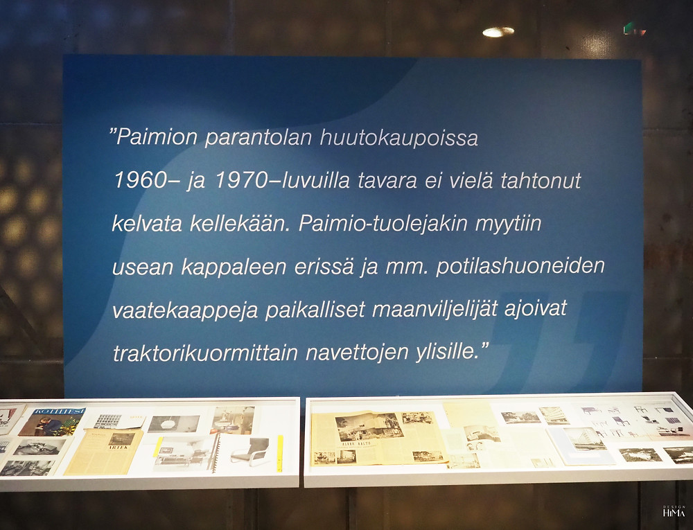 Muotoja moneksi -näyttely Aalto-museossa