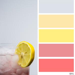 Pink Lemonade värikartta