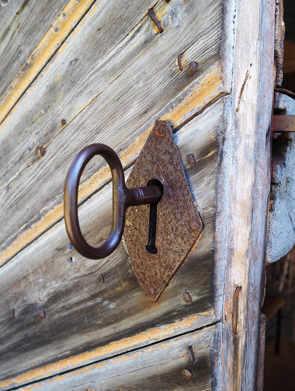Petäjäveden vanha kirkko avain