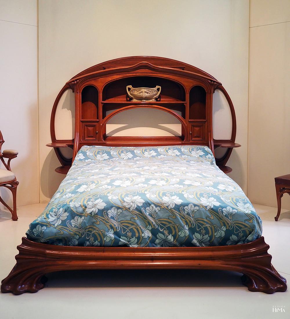 Art Nouveau sänky