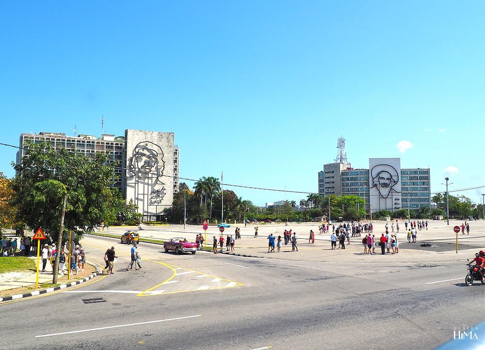 Vallankumousaukio Havanna