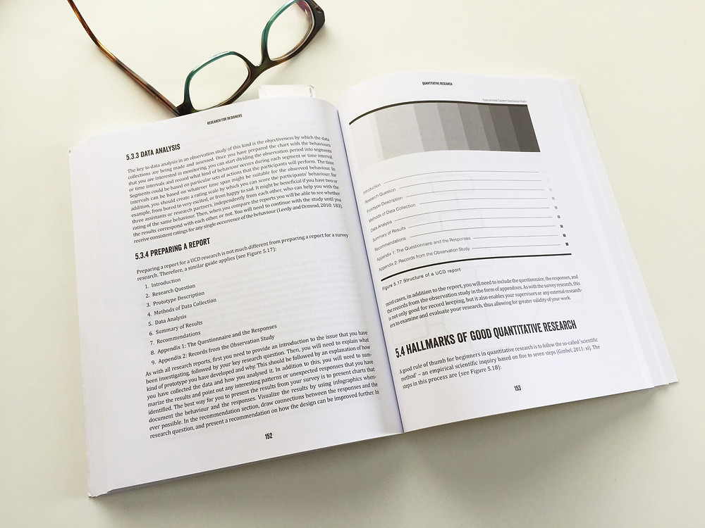 Research for Designers open pages