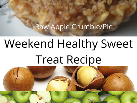 Weekend Healthy Sweet Treat Recipe